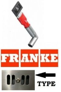 Genuine Franke Rectangular Overflow For Kitchen Sink With A Grid Overflow